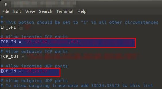 Limiting access to specific ports by country in CSF - blackMORE Ops - 1