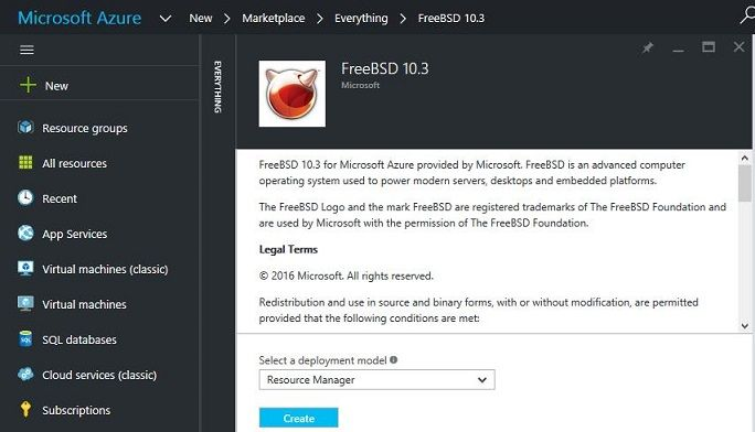 Microsoft created its own FreeBSD image - blackMORE Ops - 3