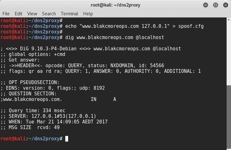 dns2proxy – Offensive DNS server post-explotation tool - blackMORE Ops - 5
